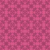 Розовая орнаментальная безшовная линия картина Стоковые Фото