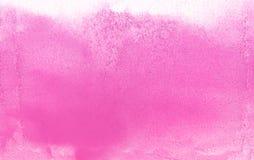 Розовая предпосылка бумаги текстуры акварели цветка природы, красивая творческая планета бесплатная иллюстрация