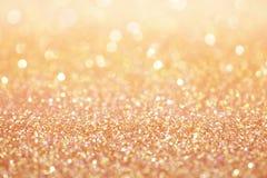 Розовая предпосылка конспекта текстуры пыли пинка золота Стоковые Фотографии RF