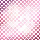 Розовая предпосылка мозаики иллюстрация штока