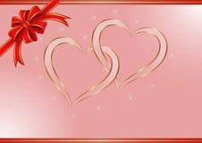 Розовая предпосылка Стоковые Фото