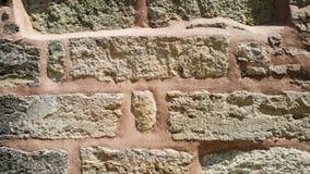 Розовая предпосылка каменной стены, Турция Стоковое Изображение