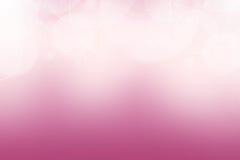 Розовая предпосылка круга конспекта пузыря Стоковое фото RF