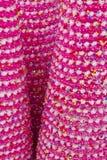 Розовая предпосылка рождественской елки Стоковая Фотография