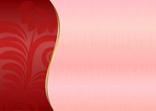 Розовая предпосылка Стоковые Фотографии RF