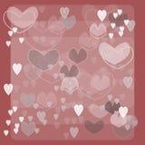 Розовая предпосылка Стоковое Изображение RF