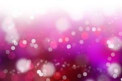 Розовая предпосылка Bokeh цвета стоковые изображения