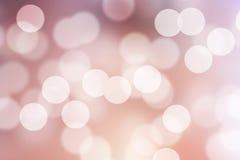 Розовая предпосылка Bokeh Стоковые Фотографии RF