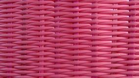 Розовая предпосылка weave корзины Стоковое Фото