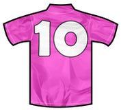 Розовая рубашка 10 Стоковые Изображения RF
