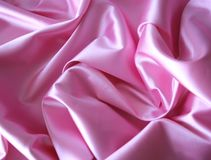 розовая сатинировка стоковое изображение rf