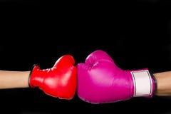 Розовая сила девушки Стоковое фото RF