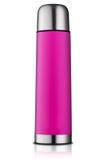 Розовая склянка thermos Стоковые Изображения RF