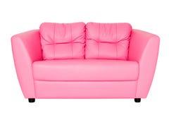 розовая софа стоковая фотография