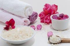 розовая спа Стоковое Фото