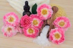 Розовая спа Bodycare Стоковые Фотографии RF