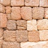 Розовая стена Laterite и песчаника стоковое изображение