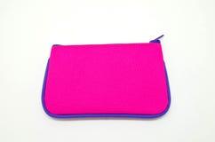 розовая сумка Стоковое Фото