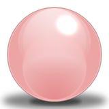 розовая сфера Стоковая Фотография RF