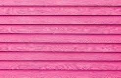 Розовая текстура искусственной древесины Стоковая Фотография