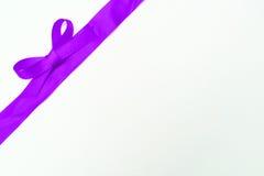 розовая тесемка Стоковые Изображения