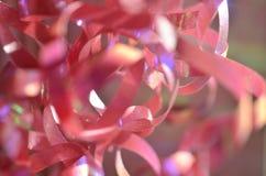 розовая тесемка Стоковые Изображения RF