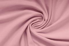 Розовая ткань хлопка, ткань сирени вязать, Стоковое фото RF
