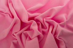 Розовая ткань Стоковое Изображение