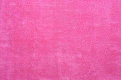 Розовая ткань Microfiber Стоковые Фото