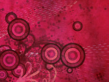 Розовая флористическая предпосылка grunge бесплатная иллюстрация