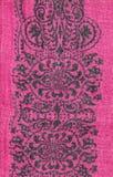 Розовая флористическая ткань Стоковое Изображение