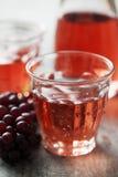 Розовое вино Стоковая Фотография