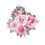 Розовое выражение Стоковое фото RF