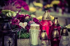 Розовое горение миражирует предпосылку Стоковая Фотография