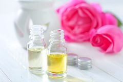 Розовое масло Стоковое фото RF