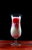 Розовое молоко Стоковое Фото