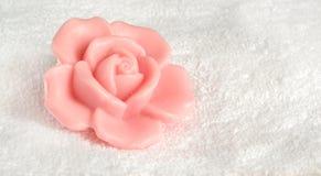 розовое мыло Стоковые Изображения RF