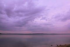 розовое небо Стоковая Фотография RF