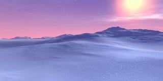 розовое небо Стоковое Изображение RF