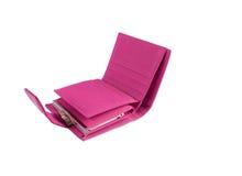 розовое портмоне Стоковое Фото