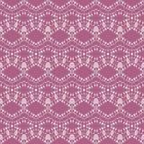 Розовое регулярн богато украшенного ромбовидного узора фиолетовые и белый горизонтально иллюстрация вектора