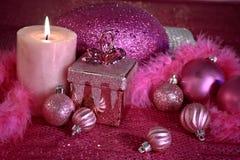 Розовое рождество стоковая фотография rf