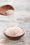 Розовое соль стоковая фотография