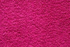розовое тканье terry Стоковые Фотографии RF