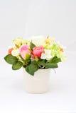 Розовое украшение цветка Стоковые Изображения RF