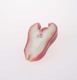 Розовое Яблоко розовое яблоко на предпосылке Стоковое фото RF