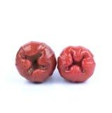 Розовое Яблоко Стоковые Изображения RF