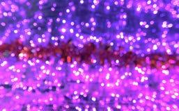 Розовое bokeh Стоковое Изображение RF