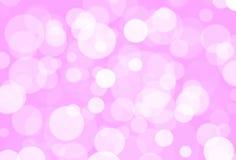 Розовое bokeh Стоковые Изображения