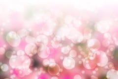 Розовое bokeh бесплатная иллюстрация